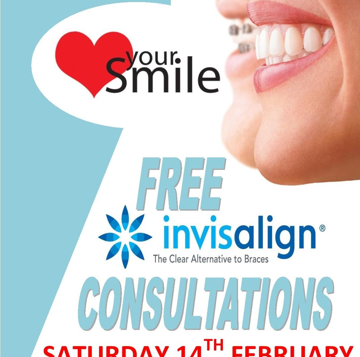 Invisalign Open Day Saturday 14th February