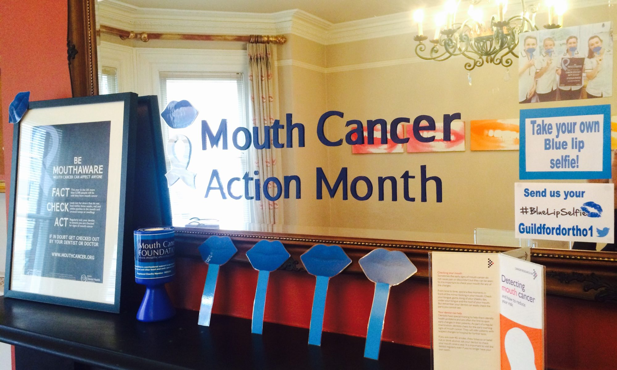 Help support Mouth Cancer Action Month