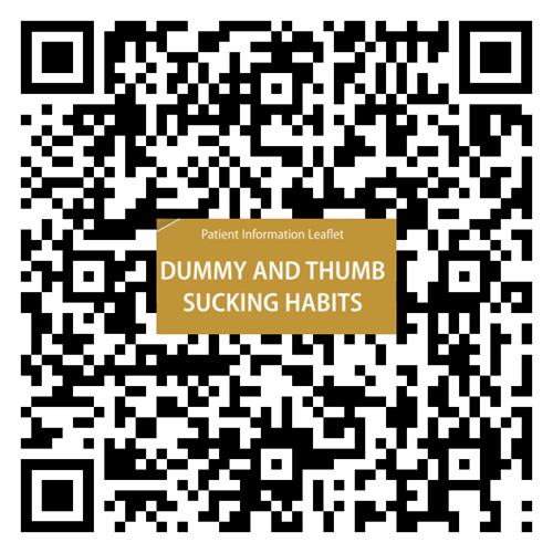 dummy and thumb sucking habits
